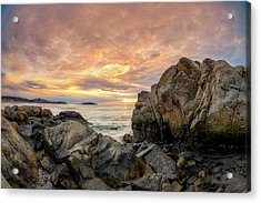 Good Harbor Rock View 1 Acrylic Print