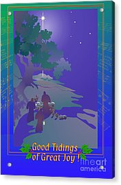 Good Tidings Acrylic Print