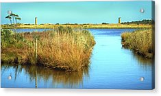 Acrylic Print featuring the photograph Gordon's Pond State Park Panorama by Bill Swartwout Fine Art Photography