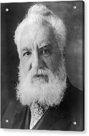 Graham Bell Acrylic Print by Topical Press Agency