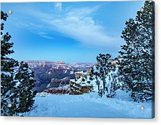 Grand Canyon Blue Hour Acrylic Print