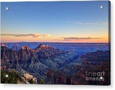 Grand Canyon National Park At Sunset Acrylic Print