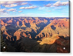 Acrylic Print featuring the photograph Grand Canyon Near Sunset by Dawn Richards
