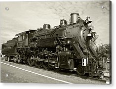 Acrylic Print featuring the photograph Grand Canyon Railway by Dawn Richards