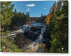 Acrylic Print featuring the photograph Grand Falls by Rick Hartigan