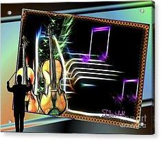 Grand Musicology Acrylic Print