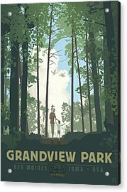 Grandview Park Acrylic Print
