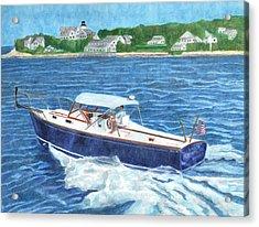 Great Ackpectations Nantucket Acrylic Print