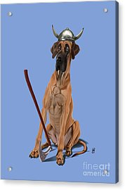 Acrylic Print featuring the digital art Great Colour by Rob Snow