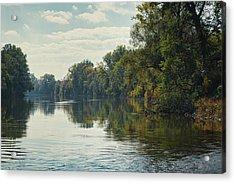Great Morava River Acrylic Print