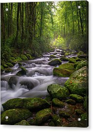 Great Smoky Mountains Gatlinburg Tennessee Acrylic Print