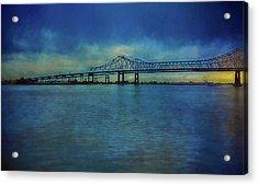 Greater New Orleans Bridge Acrylic Print