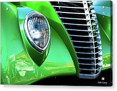 Green Machine Acrylic Print