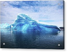 Greenland  A Laboratory For The Acrylic Print by Joe Raedle