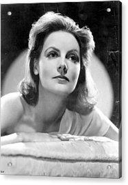 Greta Garbo Acrylic Print by Evening Standard