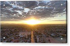 Guadalupe Sunset Acrylic Print