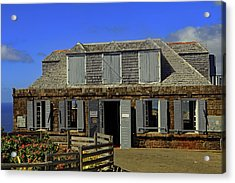 Acrylic Print featuring the photograph Guardhouse by Tony Murtagh