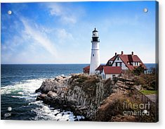 Acrylic Print featuring the photograph Guardian Of The Sea by Scott Kemper