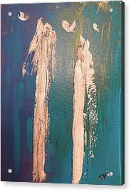 Guiding Angels...he Has Risen Acrylic Print