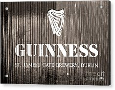 Guinness St. James Gate Brewery Dublin Acrylic Print