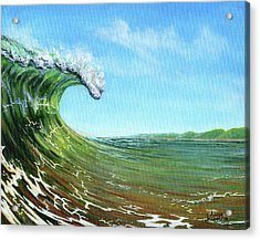 Gulf Of Mexico Surf Acrylic Print