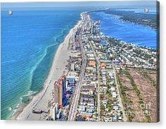 Gulf Shores 7124 Acrylic Print