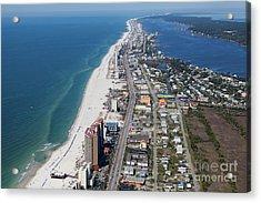 Gulf Shores 7124n Acrylic Print