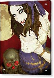 Gypsy Acrylic Print