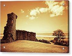 Hadleigh Castle Acrylic Print