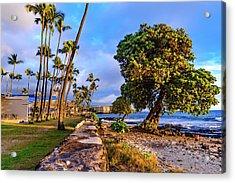 Hale Halawai Park Acrylic Print