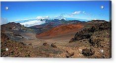 Haleakala Crater Panoramic Acrylic Print