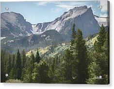 Hallett Peak Colorado Acrylic Print