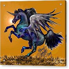 Halloween Fantasy Horse Acrylic Print