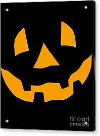 Halloween Pumpkin Tee Shirt Acrylic Print
