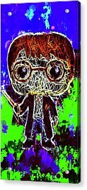 Acrylic Print featuring the mixed media Harry Potter Pop by Al Matra