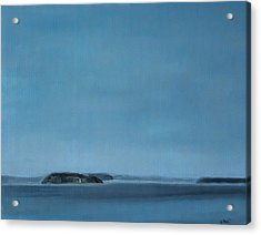 Hat Island View From Harborview Park Acrylic Print