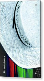 Hat Painting Acrylic Print