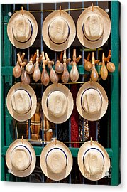 Hats, Musical Instruments,religious Acrylic Print