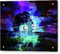 Haunted House Acrylic Print