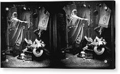 Haunted House Acrylic Print by London Stereoscopic Company