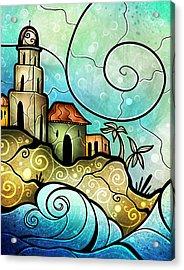 Havana Bay Acrylic Print