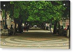 Havana's Prado Promenade  Acrylic Print