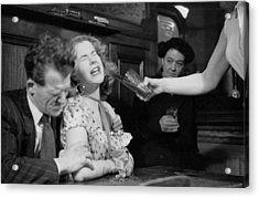 Have A Drink Acrylic Print by Bert Hardy