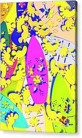 Hawaiian Design Acrylic Print