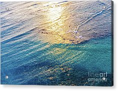 Hawaiian Sunset Acrylic Print by D Davila