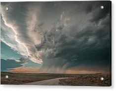 Hay Springs Ne Supercell Acrylic Print