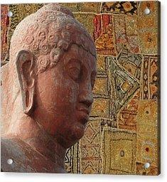 Head Of Buddha,  Acrylic Print