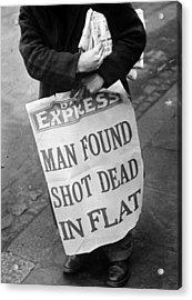 Headline News Acrylic Print