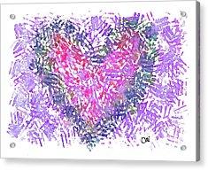 Heart 1007 Acrylic Print