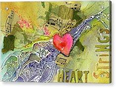 Heart Strings Acrylic Print